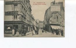 CPA -  GRANVILLE - La Rue Paul-Poirier - Pharmacie Principale -  E. PIGEON - Non Circulée - TBE - Granville