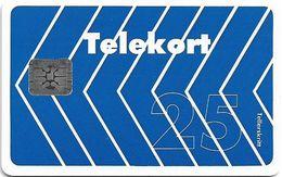 Norway - Telenor - Blue Arrow - N-003D - Chip SC5 - 01.1990, 30.000ex, Mint (check Photos!) - Norway