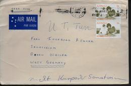 AUSTRALIE Lettre 1973 - Marcophilie