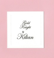Cartes Parfumées GOLD KNIGHT  BY  KILIAN - Modern (from 1961)