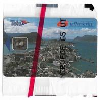 Norway - Telenor - Alesund - N-008g - Sn.00208 - SC5, 01.1992, 6.000ex, NSB - Norway