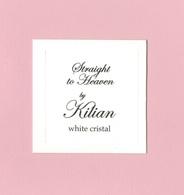 Cartes Parfumées STRAIGHT TO HEAVEN  BY  KILIAN - Cartes Parfumées