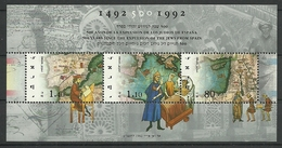 Israel 1992 500 Y. Since The Expulsion Of The Jews From Spain S/S Y.T. BF 46 ** - Blocks & Sheetlets