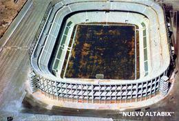 POSTAL ESTADIO ELCHE - NUEVO ALTABIX -  STADIUM POSTCARD - WORLD CUP 1982 - Fútbol