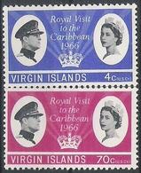 Vierge N° 165/66 YVERT  NEUF * - British Virgin Islands