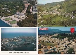50 Vues Aeriennes--france--cpm Couleur - Postkaarten
