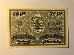 Allemagne Notgeld Oberhof 25 Pfennig - [ 3] 1918-1933 : Weimar Republic