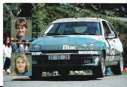 Championnat De France Des Rallyes 1995 ( Marie-Cécile OUDRY - Patricia CRAMETZ )- Carte Neuve - PE - Rallyes