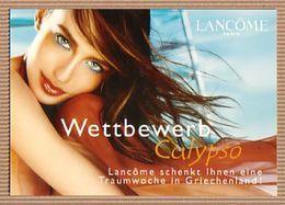 CC Carte Parfumée 'LANCOME' CALYPSO Perfume Card CANADA - Cartes Parfumées