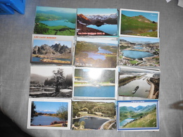 LOT   DE  610 CARTES  POSTALES DE  LACS  ET   ETANGS   DE  FRANCE - Cartoline