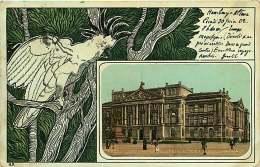 190718 ALLEMAGNE - SCHLESWIG HOLSTEIN ALTONA NEUES RATHAUS - Ara Perroquet Art Déco - Altona