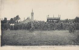 Fete Des Zouaves -Théatre En Plein Air. - Guerra 1914-18