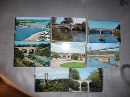 LOT   DE  486 CARTES  POSTALES DE   PONTS  ET    DE   VIADUCS  DE  FRANCE - Cartoline