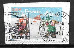 FRANCE Adhésif 31 Bonne Année 3439 - Luchtpost