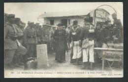 LE HOHNECK N° 60 - SOLDATS FRANCAIS ET ALLEMANDS A LA BORNE-FRONTIERE      Zbd81 - Autres Communes