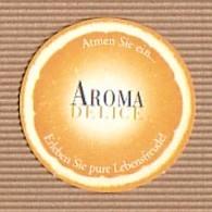 CC Carte Parfumée 'LANCOME' AROMA DELICE ORANGE Perfume Card BLOTTER - Modern (from 1961)