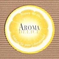 CC Carte Parfumée 'LANCOME' AROMA DELICE LEMON Perfume Card BLOTTER - Modern (from 1961)