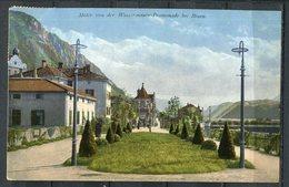 """CPA Color AK Italien/Österreich Bozen/Bolzano 1910 """"Wassermauer-Promenade Bei Bozen""""1 AK Used - Bolzano (Bozen)"""