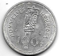 New Hebrides 100 Francs 1966 Km 1 - Vanuatu