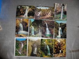 LOT   DE  200 CARTES  POSTALES   DE   CASCADES   DE  FRANCE - Postcards