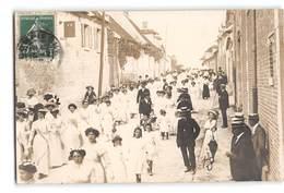 CPA-photo _ Jaux _ Bouquet Provincial 17/04/1910 _ Etat Superbe - France