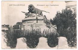 Bourg-Léopold - Monument Aux Combattants 1929 - Leopoldsburg