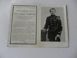 Doodsprentje Gesneuvelde 1914-18 Karel Joseph Deboeck - Godsdienst & Esoterisme