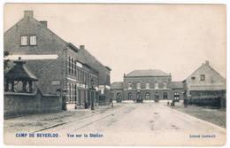 Camp De Beverloo - Vue Sur La Station  (Geanimeerd) - Leopoldsburg