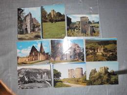LOT   DE 171 CARTES  POSTALES   DE   RUINES  DE  FRANCE - Postcards