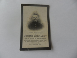 Doodsprentje Gesneuvelde 1914-18 Joseph Cobbaert - Godsdienst & Esoterisme