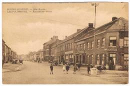 Bourg-Léopold - Rue Royale 1949  (Geanimeerd) - Leopoldsburg
