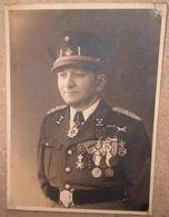 Photo Originale Colonel Belge Commandeur De L'ordre De La Couronne - Documents