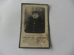 Doodsprentje Gesneuvelde 1914-18 Jozef De Leener - Godsdienst & Esoterisme