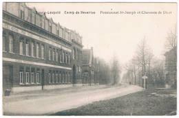 Bourg-Léopold - Pensionnat St.-Joseph Et Chaussée De Diest. 1914 - Leopoldsburg