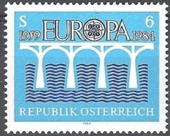 Österreich 1984 Michel 1772 Neuf ** Cote (2015) 2.50 Euro 25 Ans Europa CEPT - 1945-.... 2ème République