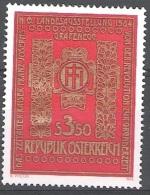 Österreich 1984 Michel 1775 Neuf ** Cote (2009) 0.60 Euro Livre Viribus Unitis - 1945-.... 2ème République