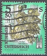Österreich 1993 Michel 2094 O Cote (2009) 0.20 Euro Sculpture En Bois Cachet Rond - 1945-.... 2ème République