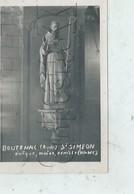 Boutenac (11) : GP De La Statue De L'Evêque Saint-Simon à L'intérieur De L'église Env 1945 PF. - France