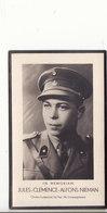 GESNEUVELDE 1940-GEBOREN TE HAMME JULES NIEMAN -ONDER-LUITENANT 8é LINIEREGIMENT - Godsdienst & Esoterisme