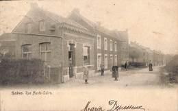 Saive - Rue Haute-Saive (animée, Précurseur, 1905) - Blegny