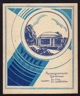 (3 Scans) France VITTEL - Publicité Pubblicità BROCHURE GUIDE FOLDER 1931 (see Sales Conditions) - Dépliants Turistici