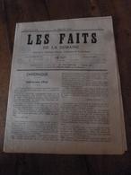 1903 LES FAITS De La Semaine >Catastrophe à Cenicero;Cyclone Au Tonkin;Haine Des Races;Empoisonné Par Un Prêtre Grec;etc - Other