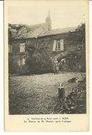 08 - IGES / CYCLONE Du 9 AOUT 1905 - MAISON DE M. HUSSON APRES L'OURAGAN - France