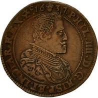 Belgique, Jeton, Flandres, Philippe IV D'Espagne, Bureau Des Finances, 1637 - Belgique