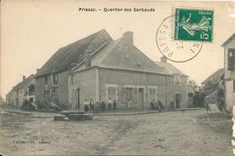 36 PRISSAC  -  QUARTIER  DES   GERBAUDS , ( état Bord Abimé ) - France