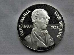 DDR  10 Mark, 1976   PROOF Carl Maria Von Weber - [ 6] 1949-1990: DDR - Duitse Dem. Rep.