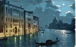 VENEZIA - Canal Grande Verso La Salute. 20.4.1900 - Venezia (Venice)