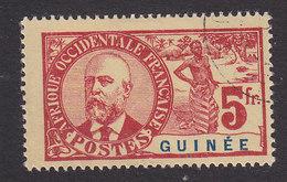 French Guinea, Scott #47, Used, Dr Noel Eugene Ballay, Issued 1906 - French Guinea (1892-1944)