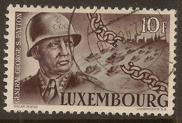 LUXEMBOURG 1947 10f General Patton SG 501 U #ANL52 - Luxembourg