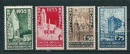"386/389 XX Postfris - Cote 70,00 ""kwaliteitszegels"" - Bélgica"